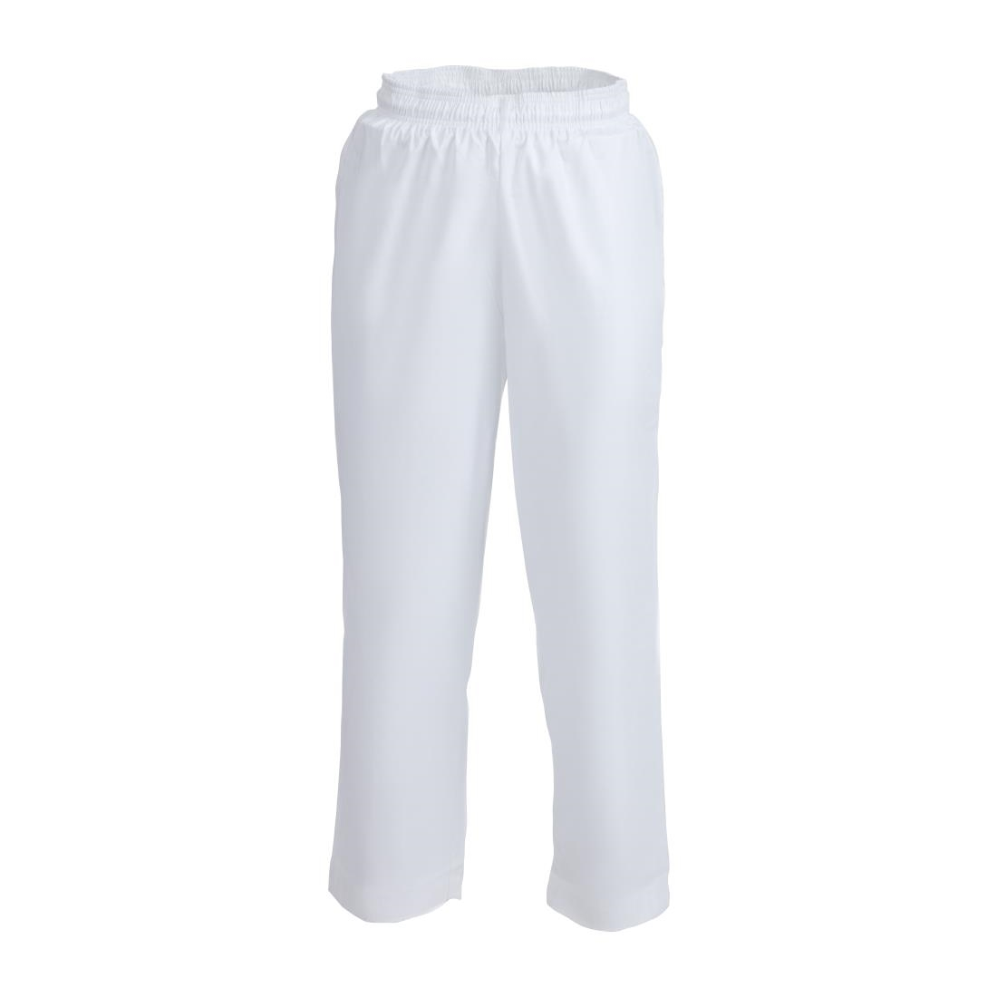 Click to view product details and reviews for Whites Easyfit Trousers Teflon White L.
