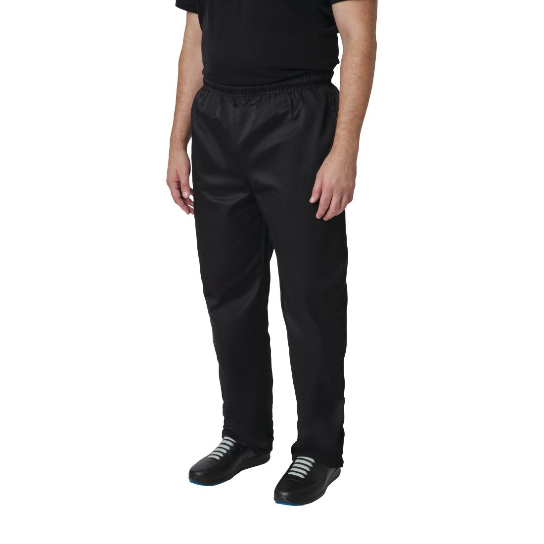 Click to view product details and reviews for Whites Vegas Chef Trousers Polycotton Black Xs.