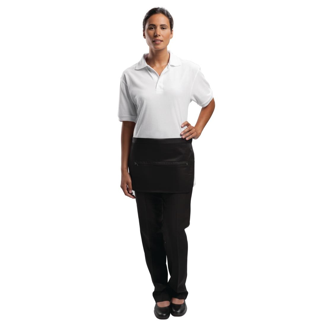 Click to view product details and reviews for Whites Unisex Money Pocket With Zip Black.