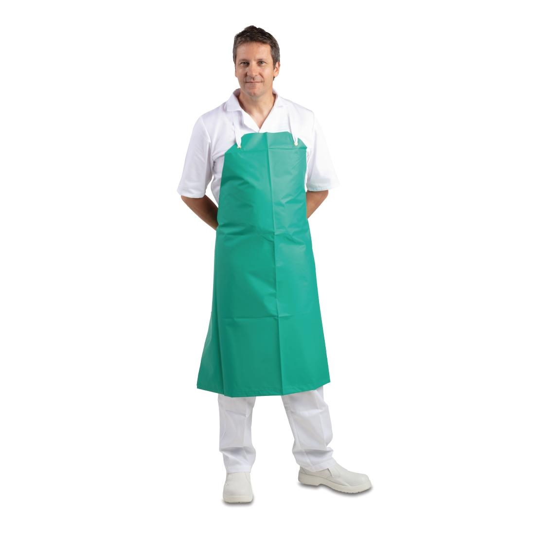 Click to view product details and reviews for Whites Heavy Duty Waterproof Apron Green.
