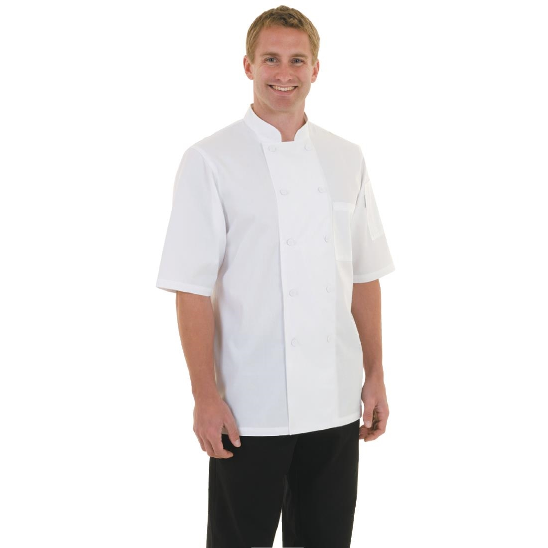 a71793e74 Chef Works Unisex Montreal Cool Vent Chefs Jacket White