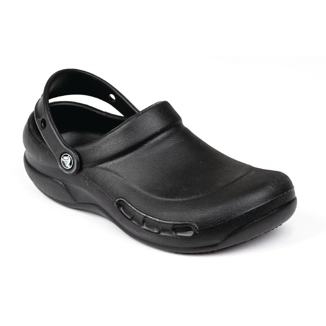 2ca2f77bf42ae5 Crocs Black Bistro Clogs - P A946 - Buy Online at Nisbets