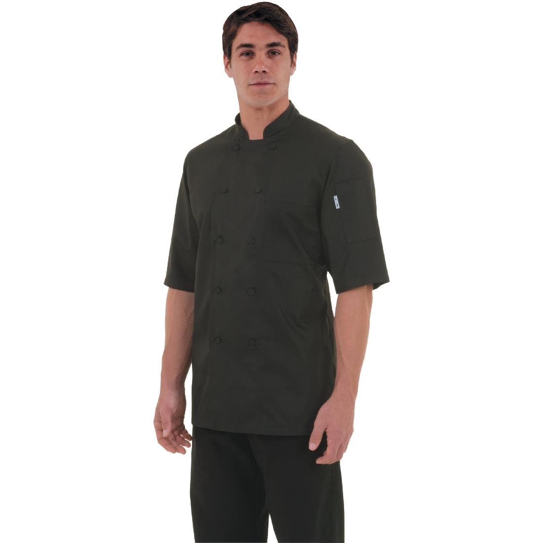 Click to view product details and reviews for Chef Works Montreal Cool Vent Unisex Chefs Jacket Black S.