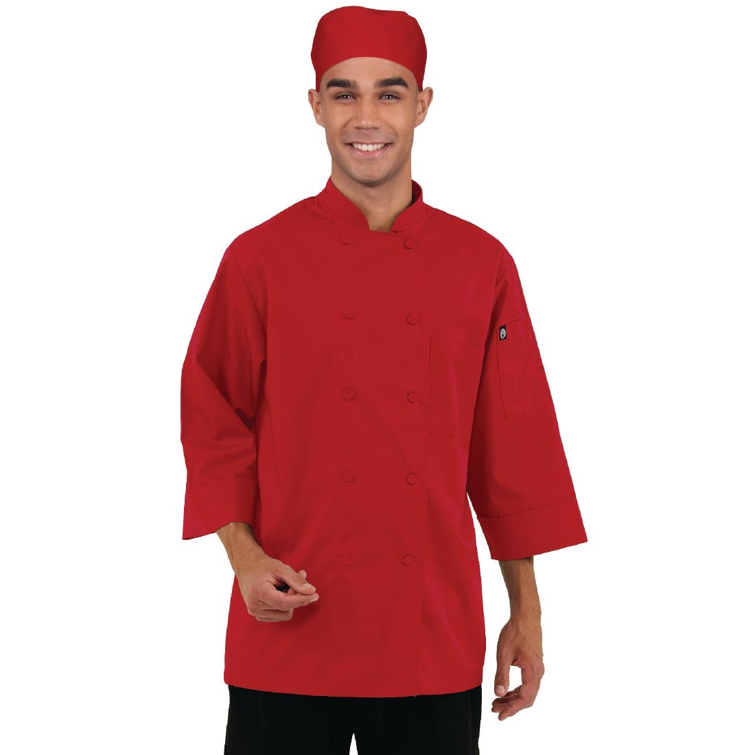 Click to view product details and reviews for Chef Works Unisex Jacket Red Xs.