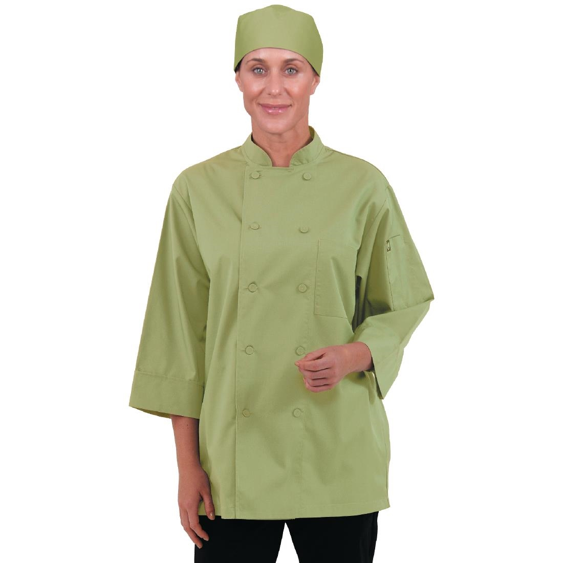 Click to view product details and reviews for Chef Works Unisex Chefs Jacket Lime Xl.