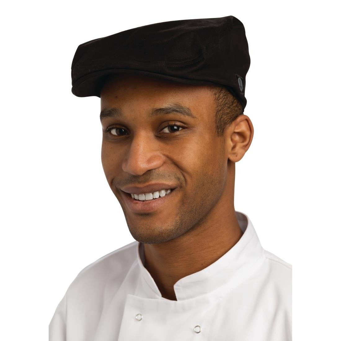 Chef Works Driver Cap Black - P B169 - Buy Online at Nisbets 18996406784