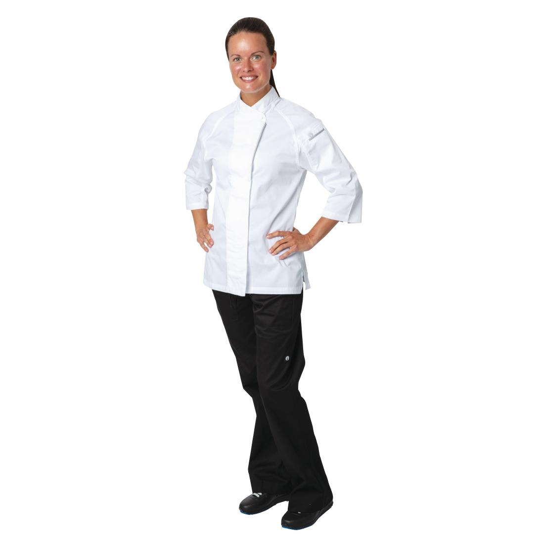 Click to view product details and reviews for Chef Works Cool Vent Verona Womens Chefs Jacket White 2xl.