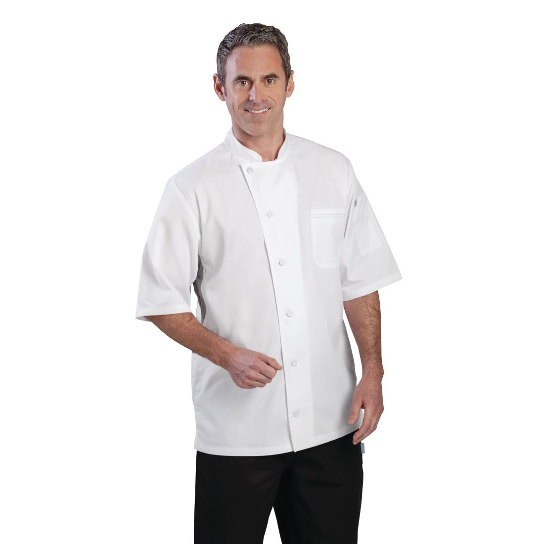 Click to view product details and reviews for Chef Works Valais Signature Series Unisex Chefs Jacket White S.
