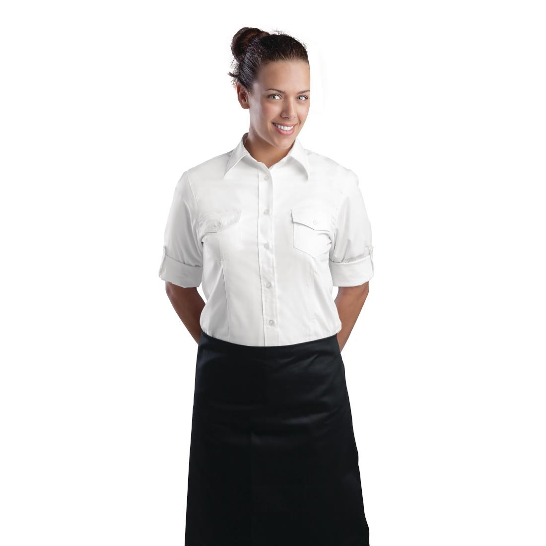 48336696a ... Chef Works Womens Pilot Shirt White P B214 Buy Online at Nisbets