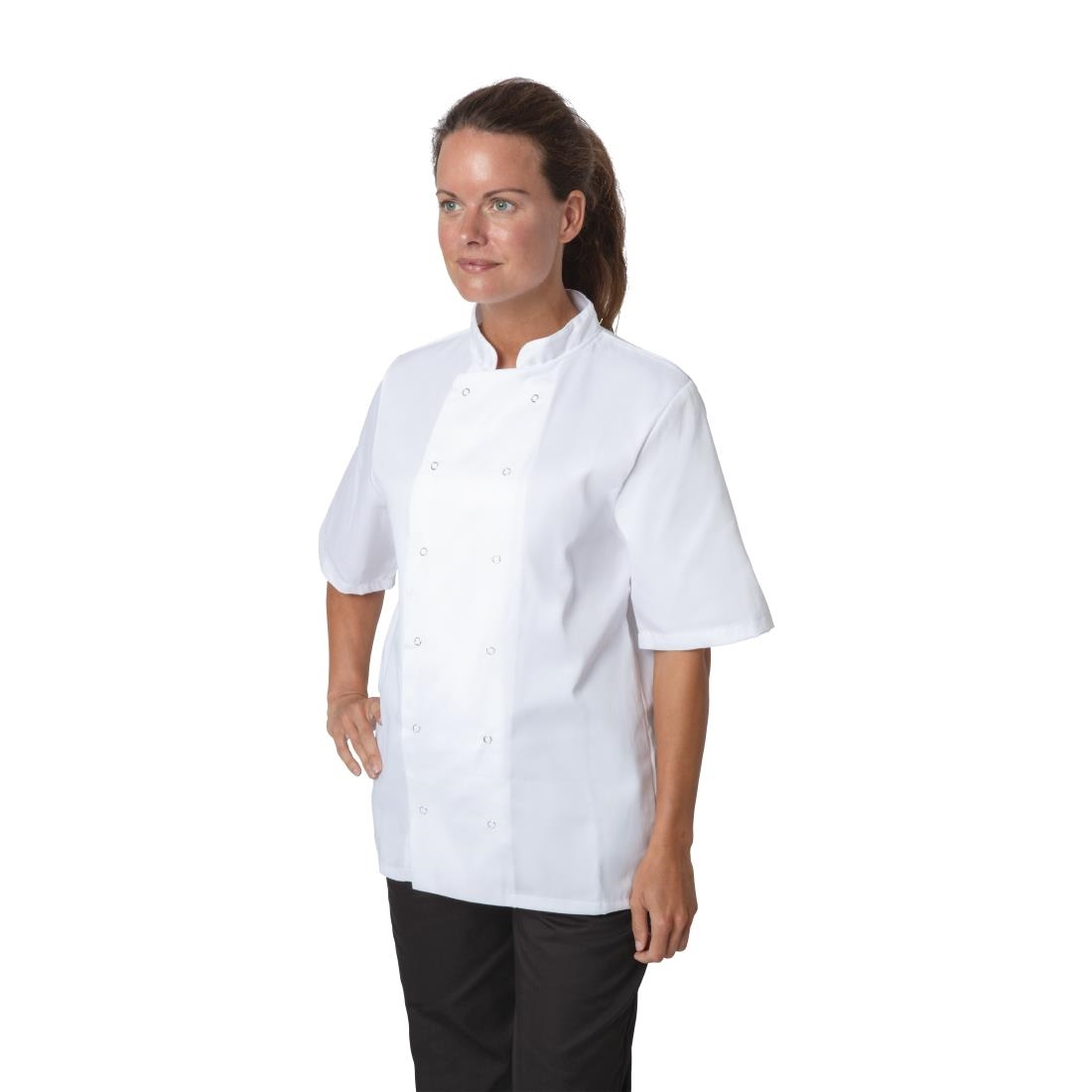 Click to view product details and reviews for Whites Boston Unisex Short Sleeve Chefs Jacket White L.