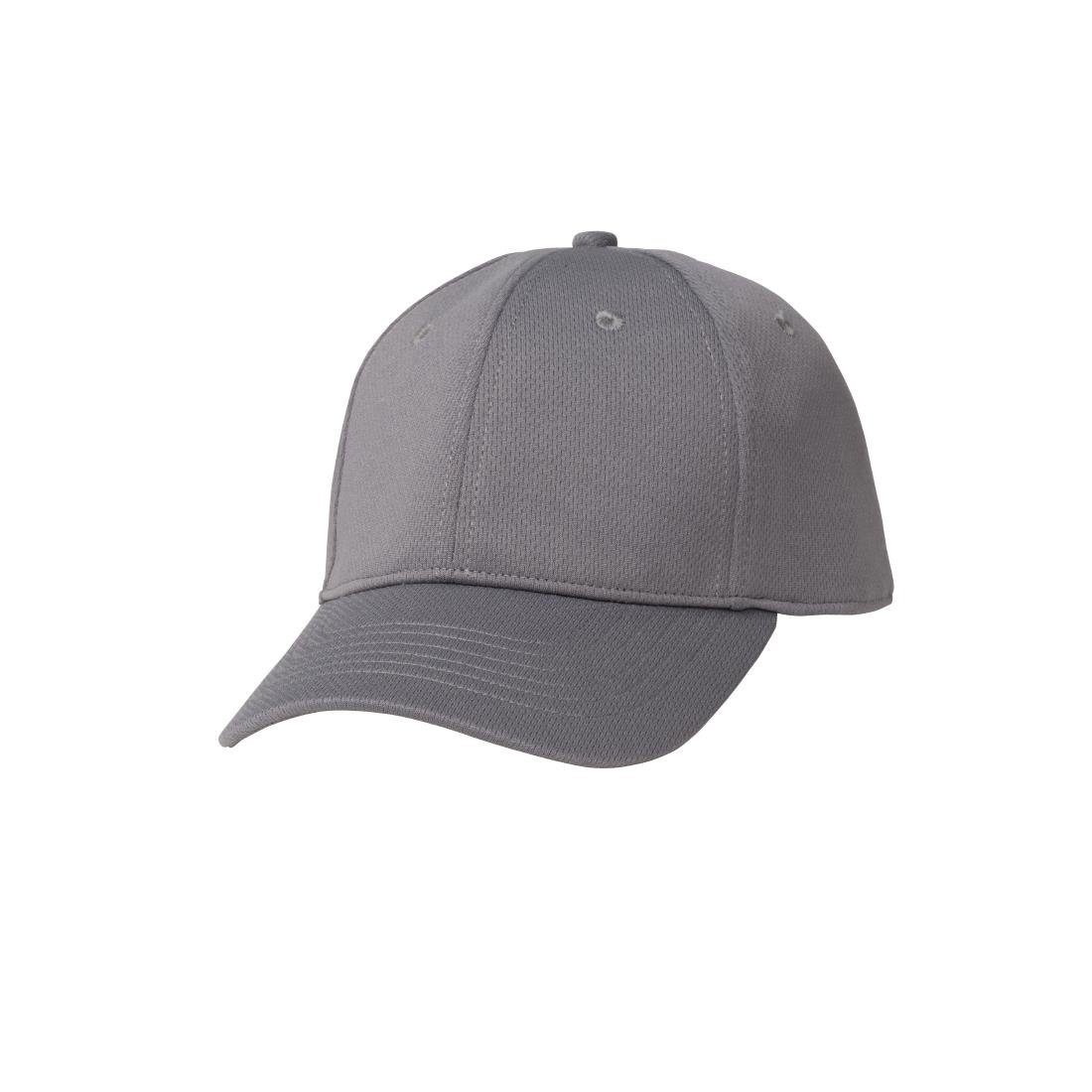 Image of Chef Works Cool Vent Baseball Cap Grey