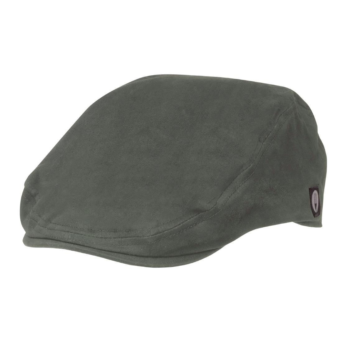 Image of Chef Works Flat Cap Grey L