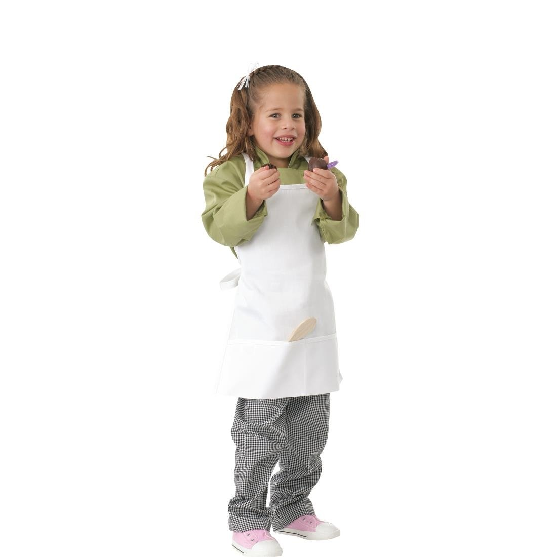 Image of Chef Works Kids Chef Apron White