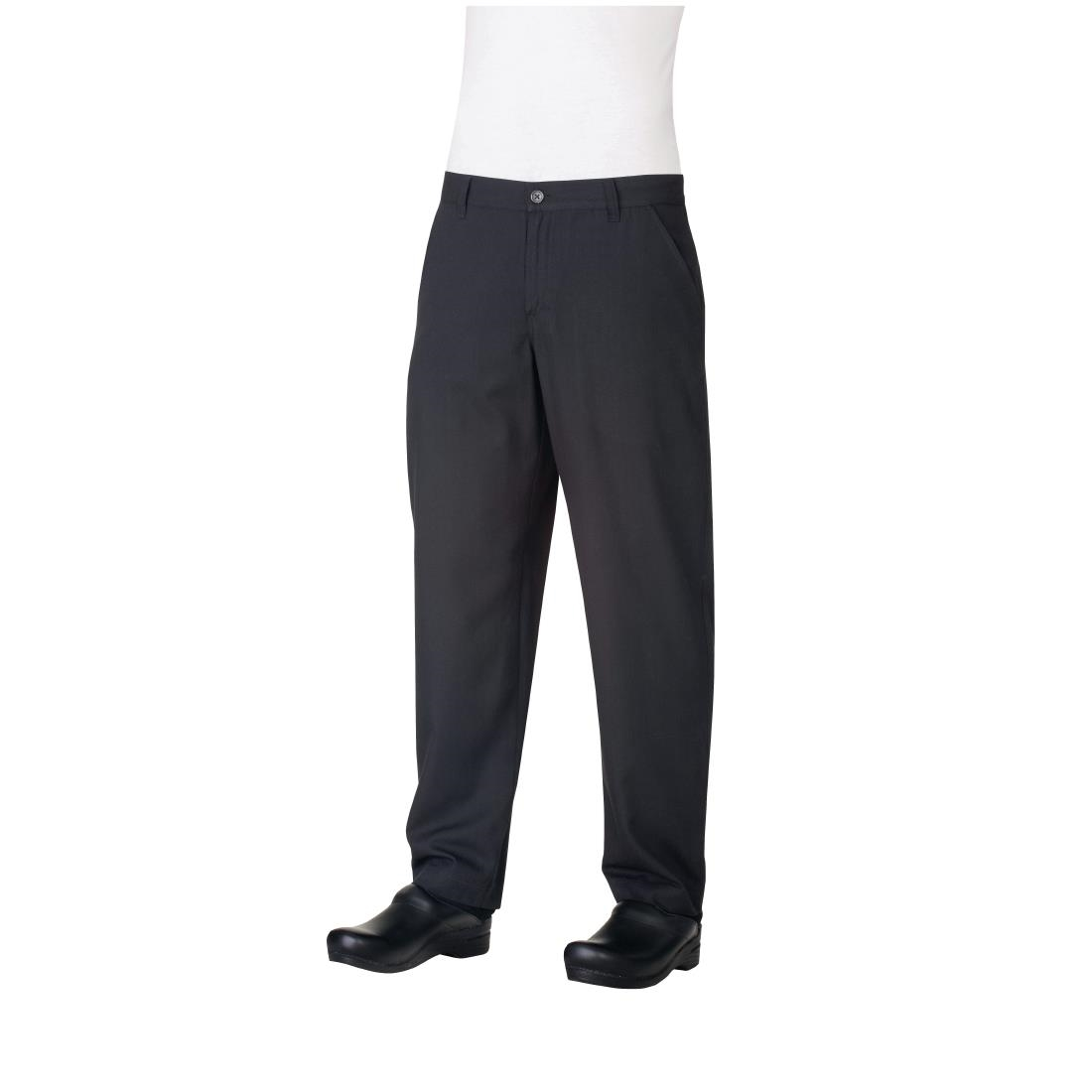 Image of Chef Works Constructed Chefs Trousers Black 28