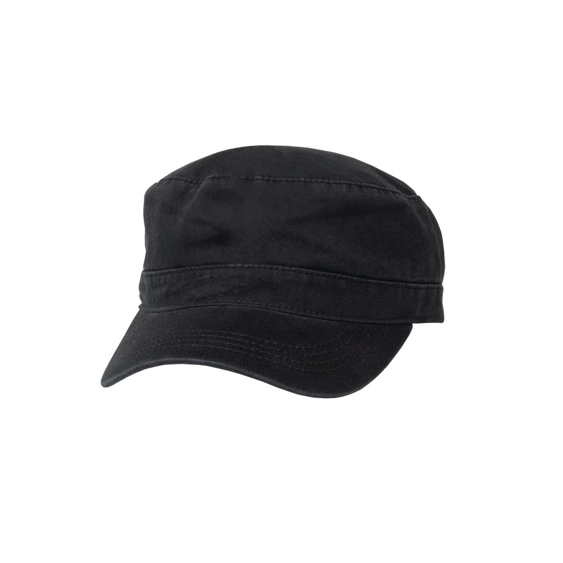 Image of Chef Works Military Cap Black