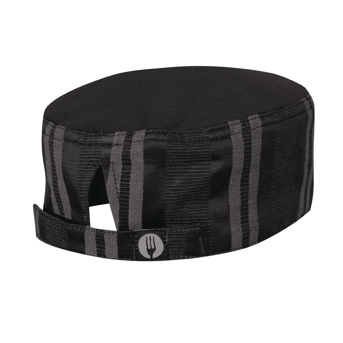 Click to view product details and reviews for Chef Works Presidio Beanie Black Grey.