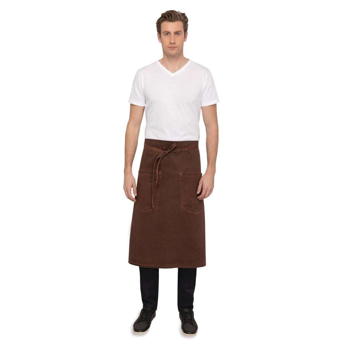 Click to view product details and reviews for Chef Works Urban Dorset Antique Bistro Apron Rust.