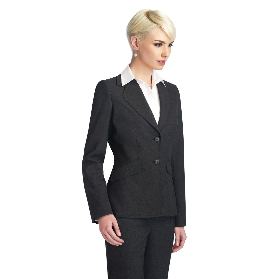 Click to view product details and reviews for Club Class Ladies Bloomsbury Jacket Charcoal Size 10.