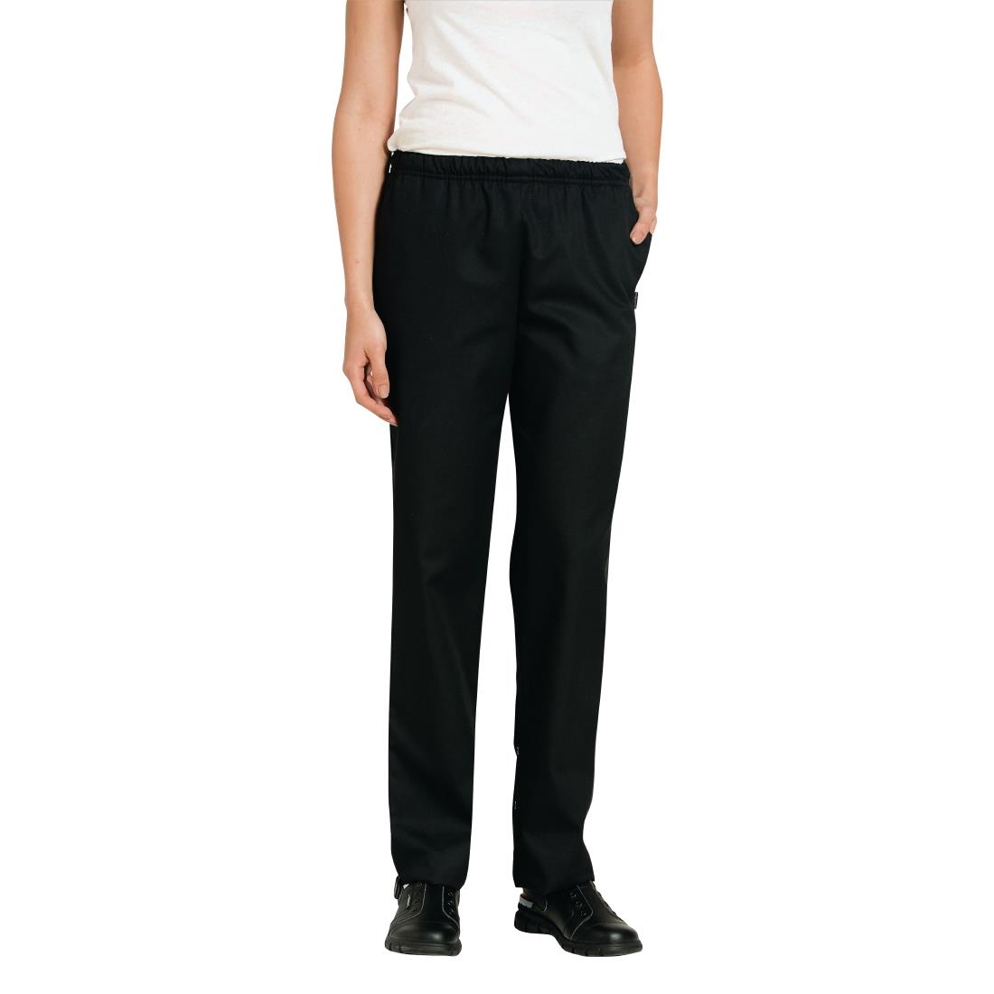 Bragard Atti Womens Trousers Black Size S