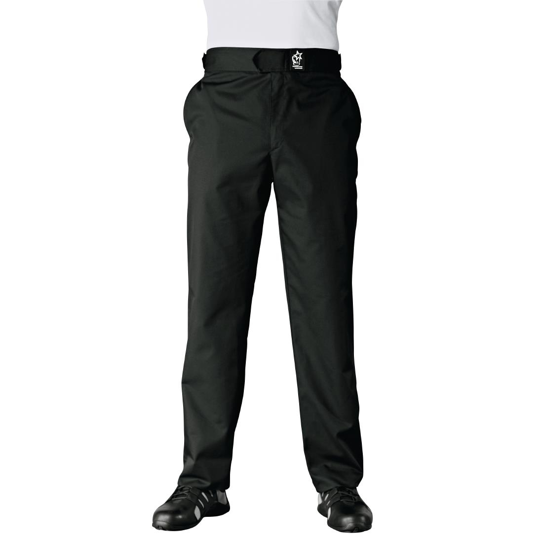 Image of Bragard Denver Mens Trousers Black Size M