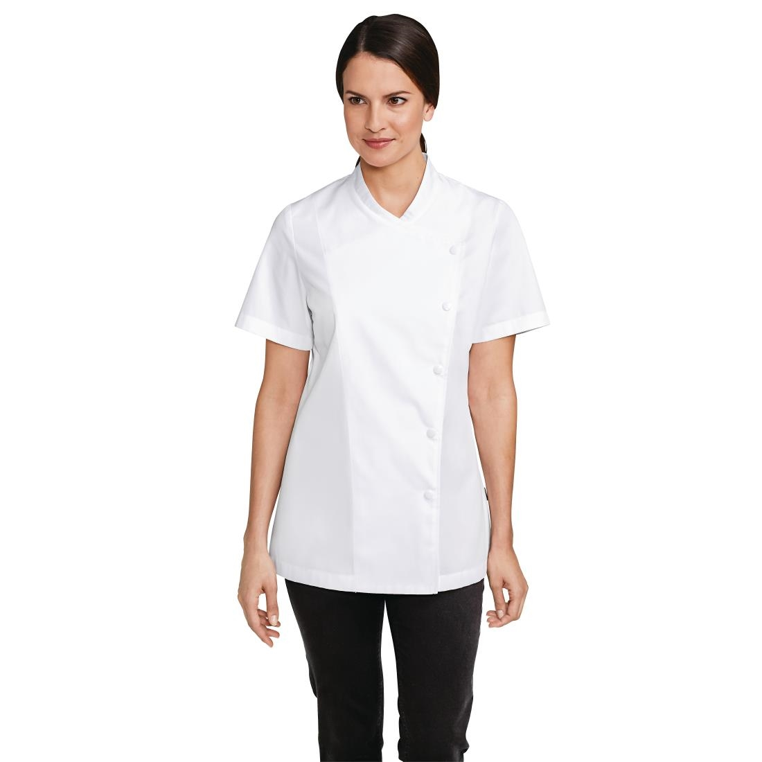 Click to view product details and reviews for Bragard Julia Jacket White Size L.
