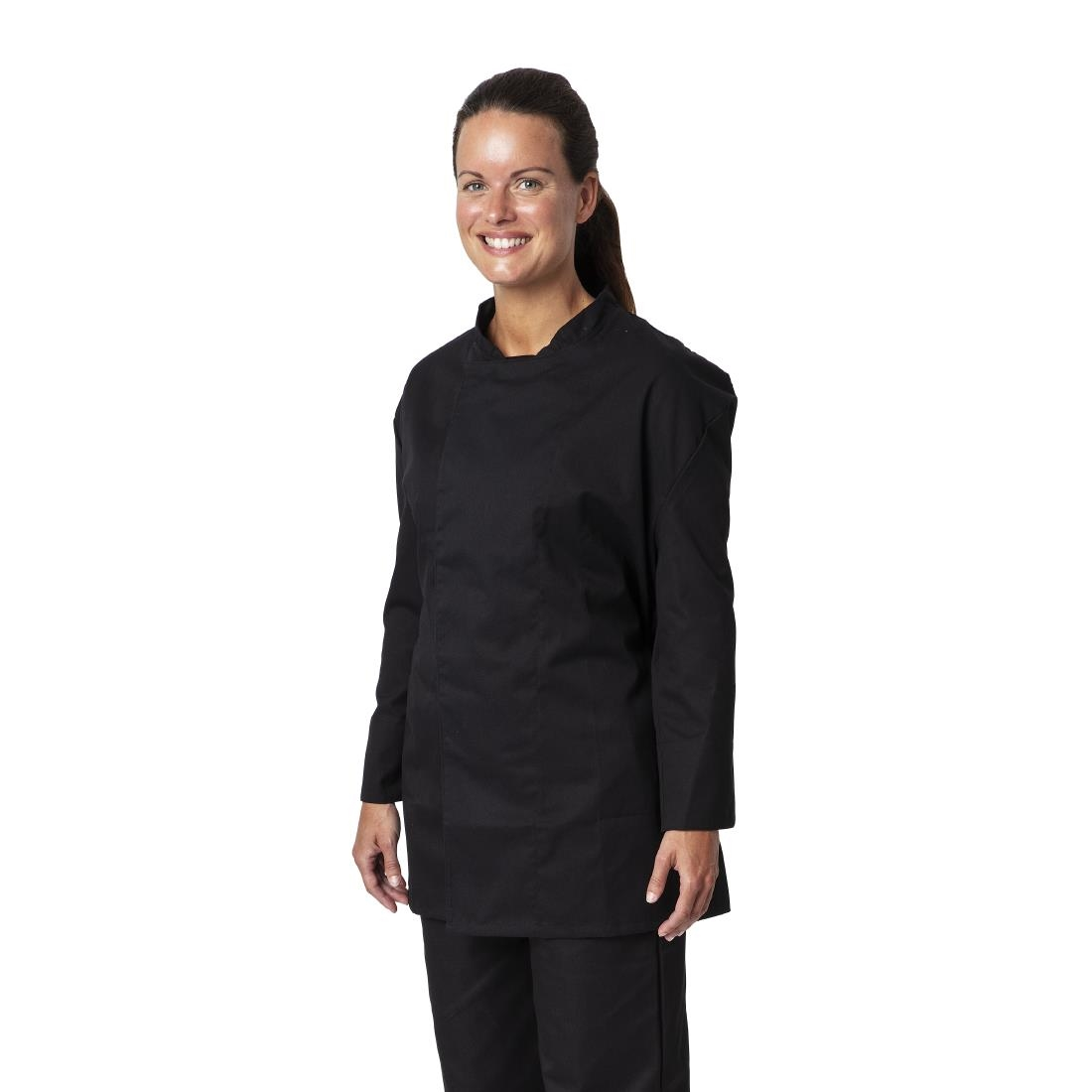 Click to view product details and reviews for Whites Unisex Atlanta Chef Jacket Black Teflon Size Xxl.