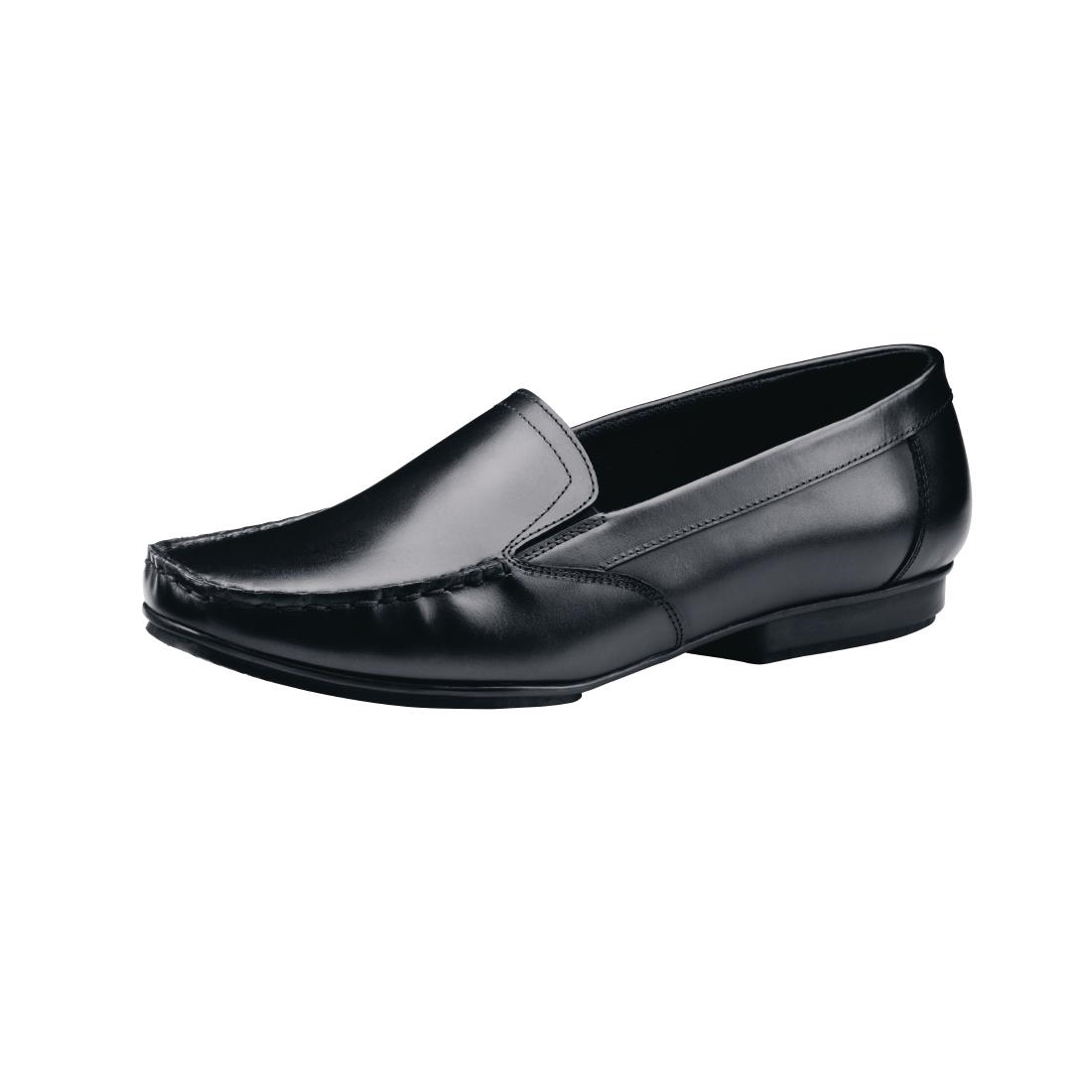 Click to view product details and reviews for Shoes For Crews Jenni Slip On Dress Shoe Black Size 36.