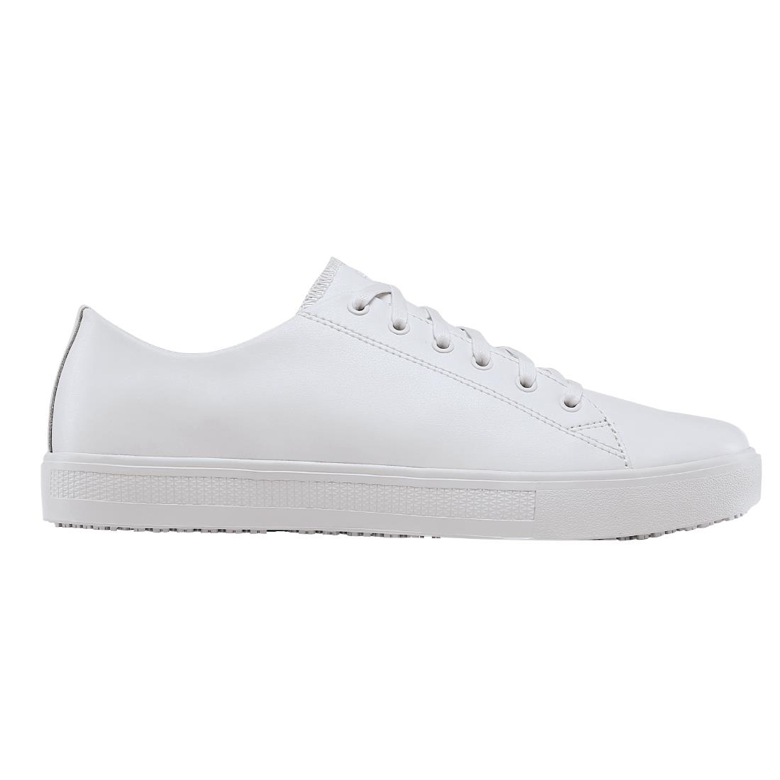 Shoes For Crews Mens Old School Trainer White Size 46