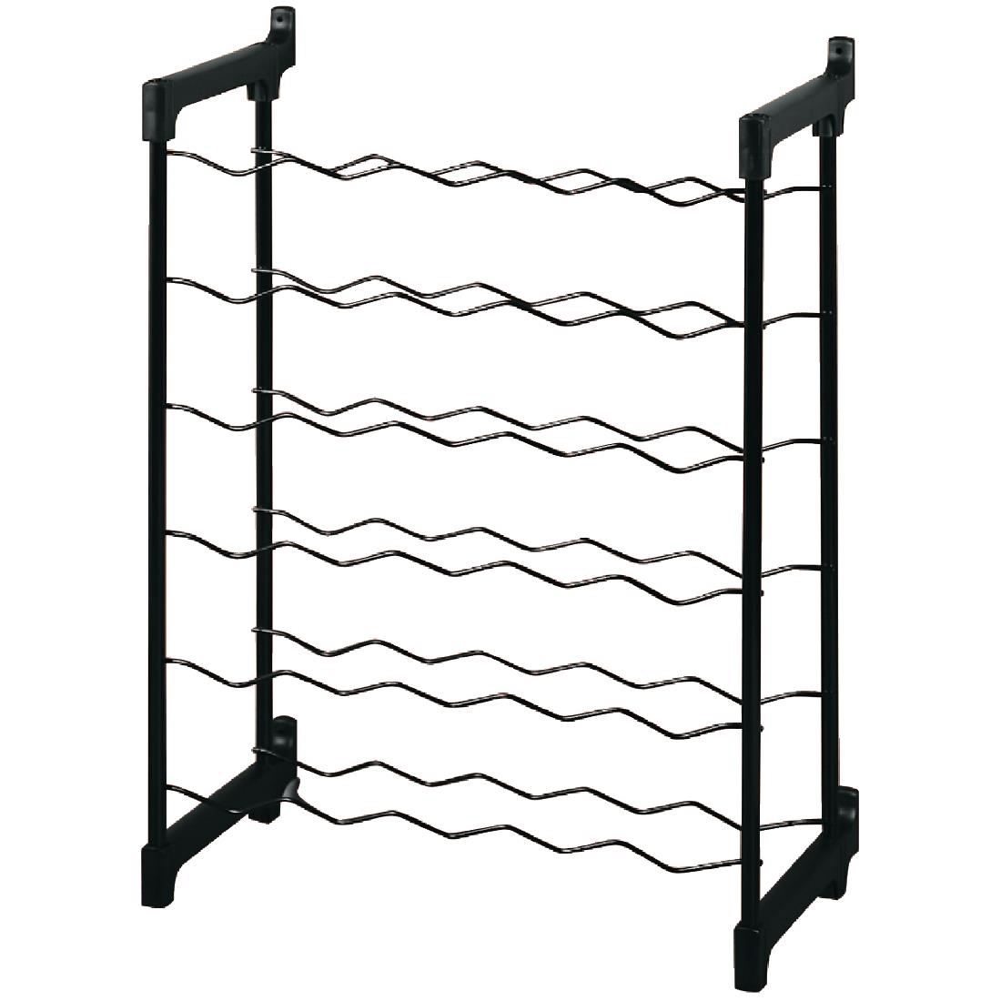 Image of Wine Rack Metal 30 Bottle