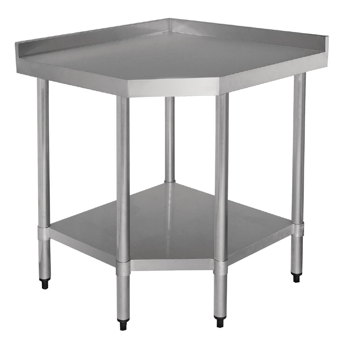 Table A Langer D Angle table d'angle inox vogue 600mm