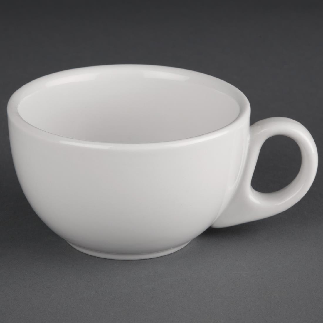 Image of Athena Hotelware Cappuccino Cups 8oz (Pack of 24) Pack of 24