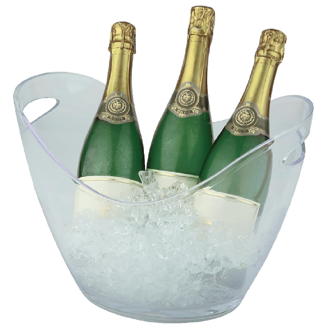 Image of APS Acrylic Wine And Champagne Bucket Large