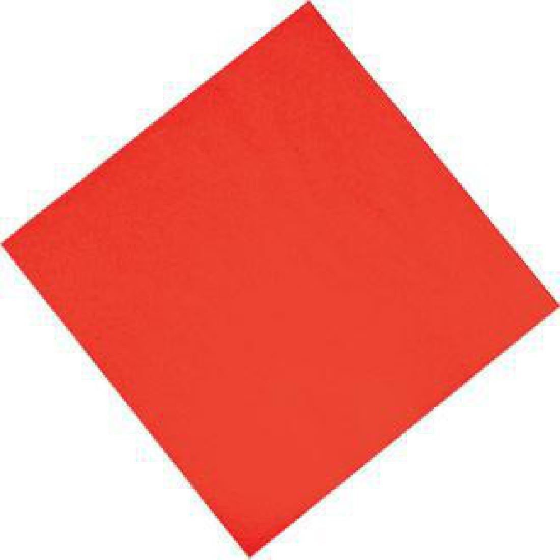 Image of Fasana Dinner Napkins Red 400mm (Pack of 1000) Pack of 1000