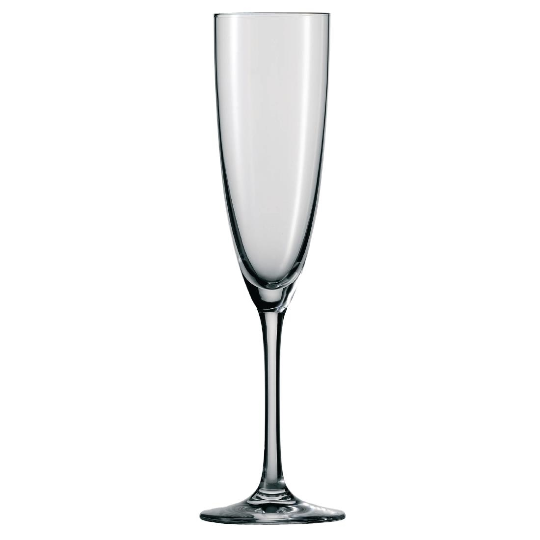 Schott Zwiesel Classico Crystal Champagne Flutes 210ml (Pack of 6) Pack of 6 Image