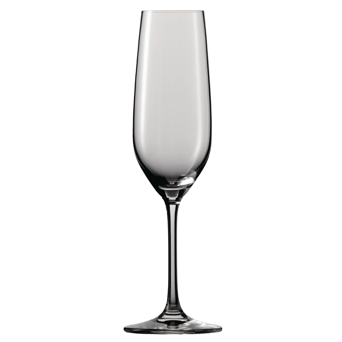 Schott Zwiesel Vina Crystal Champagne Flutes 227ml (Pack of 6) Pack of 6 Image