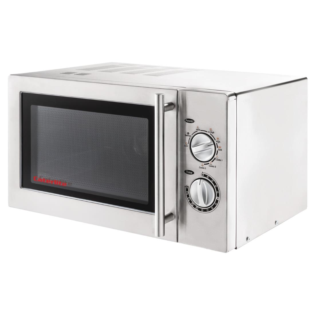 Caterlite Light Duty Microwave Oven with Grill 900W