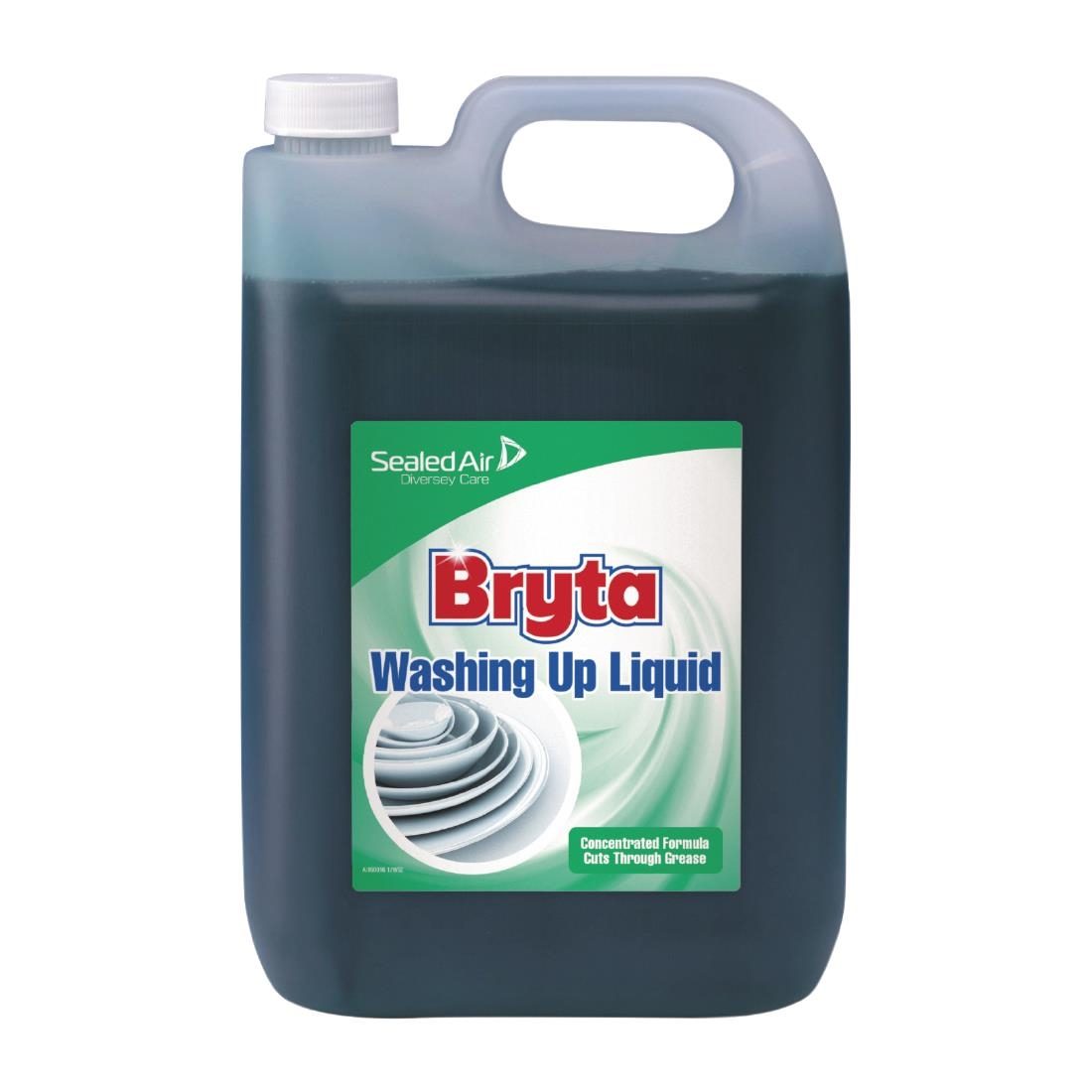 Image of Bryta Washing Up Liquid Concentrate 5Ltr (2 Pack) Pack of 2