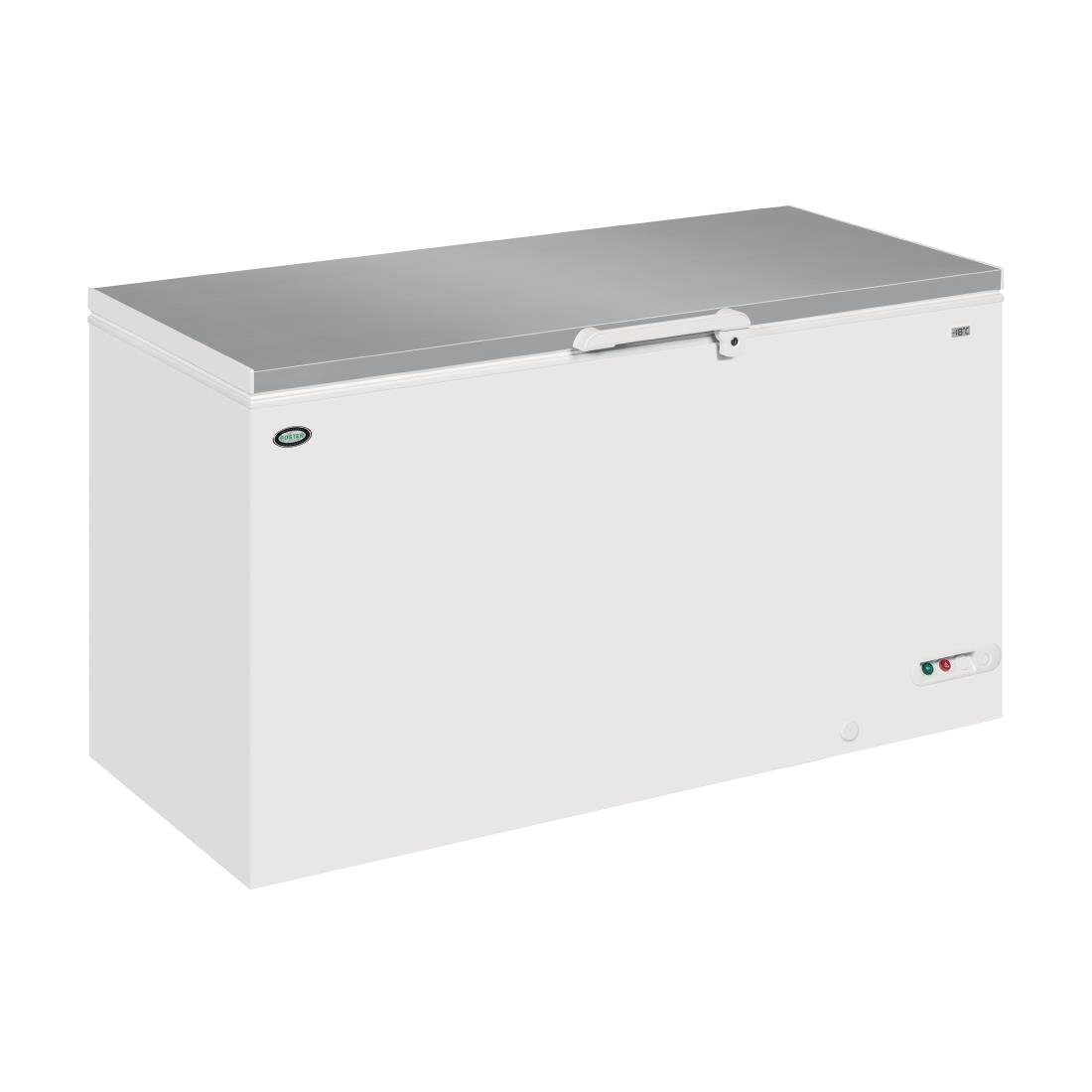 Click to view product details and reviews for Foster 504ltr Chest Freezer Fcf505lx.