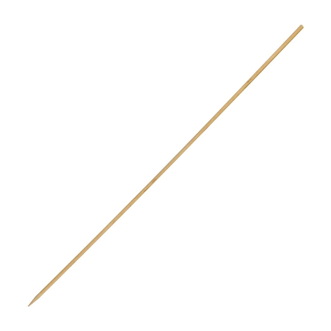Fiesta Green Biodegradable Wooden Skewers 250mm Pack of 200