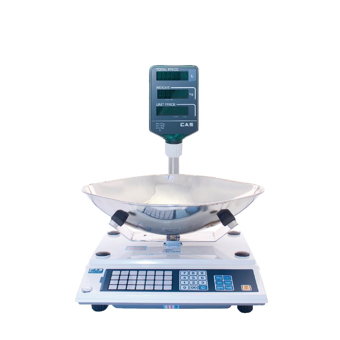 Image of CAS Retail Scales With Scoop 15kg