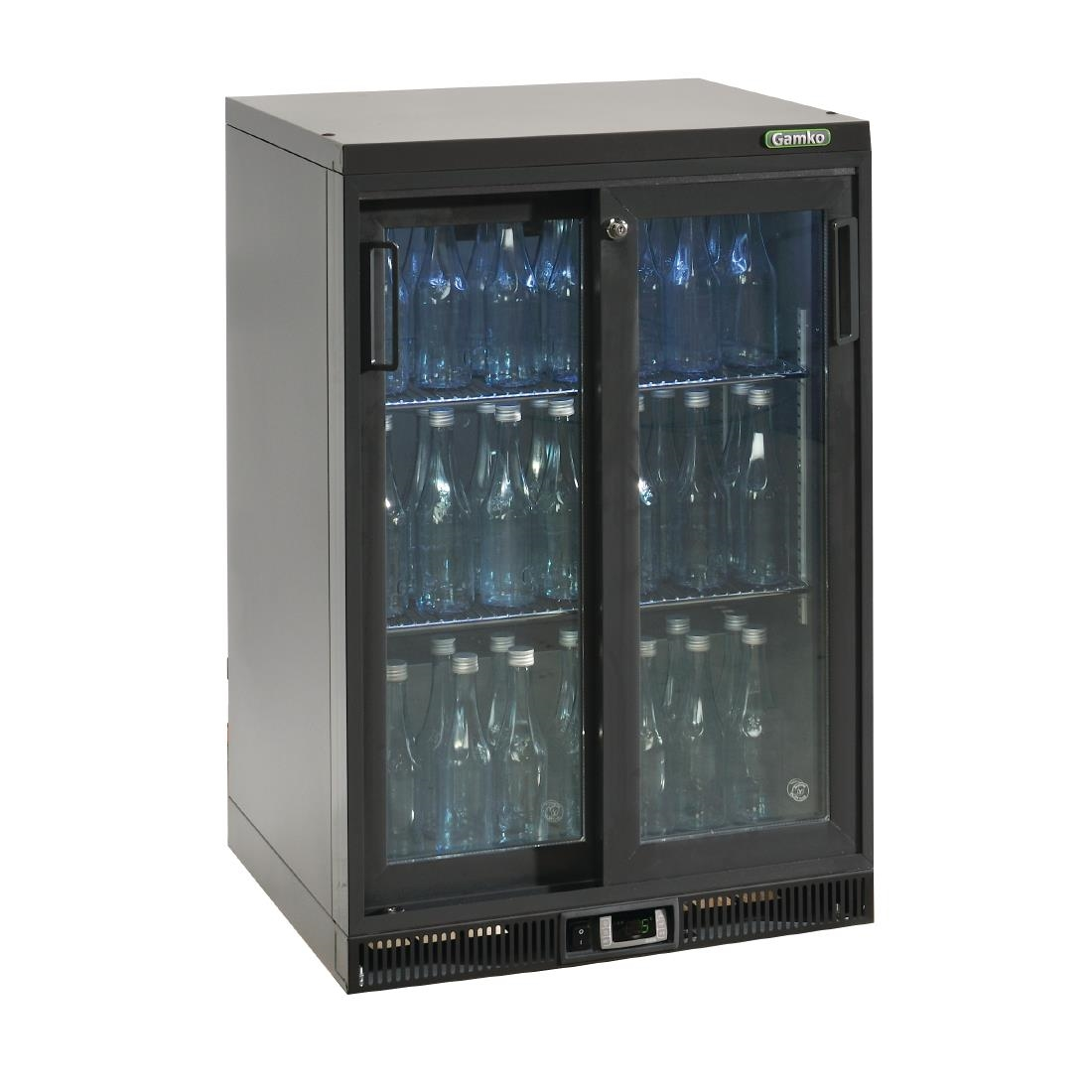 Gamko Bottle Cooler - Single Sliding Door 150 Ltr