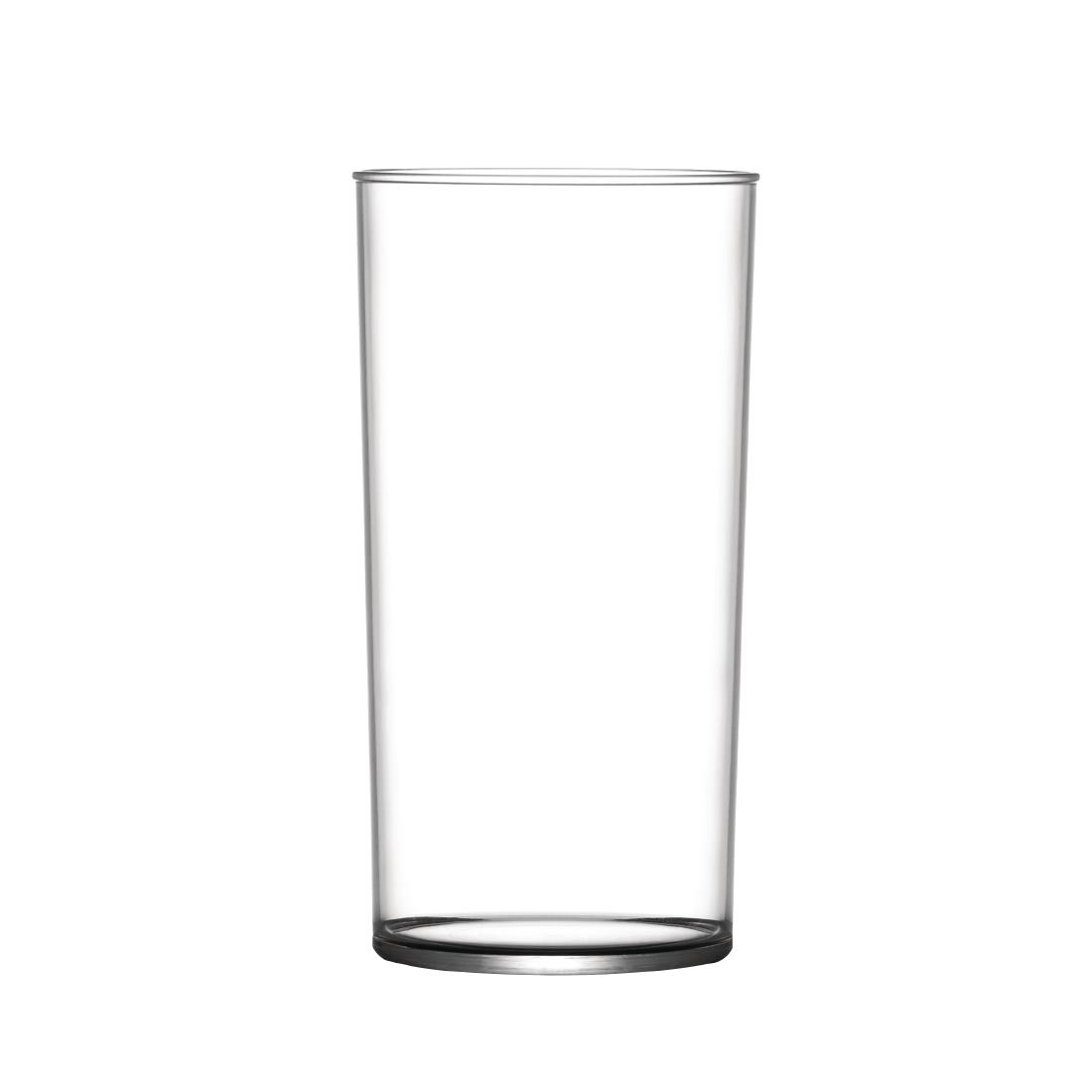 Image of BBP Polycarbonate Hi Ball Glasses 285ml CE Marked (Pack of 48) Pack of 48