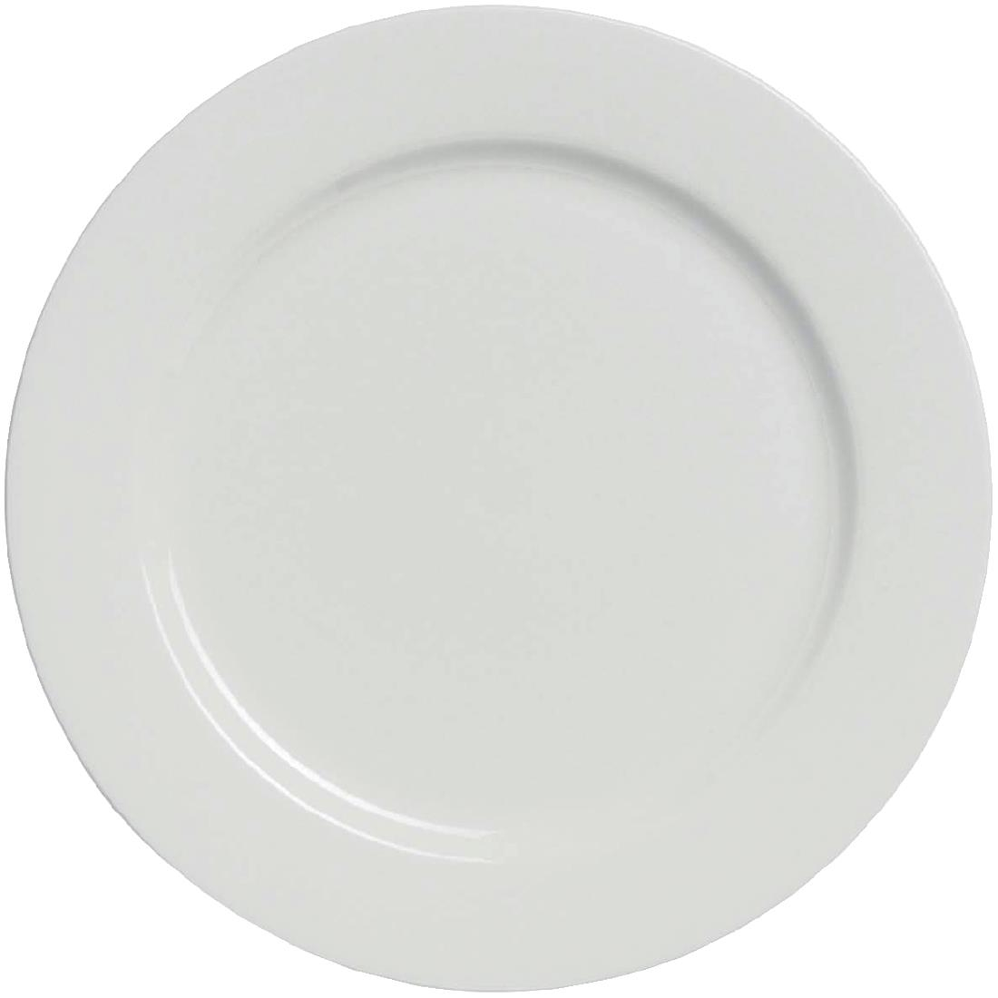Image of Elia Glacier Fine China Plates 270mm (Pack of 6) Pack of 6