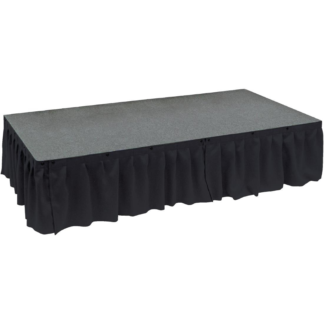 Click to view product details and reviews for Gopak Valance Black 230mm.