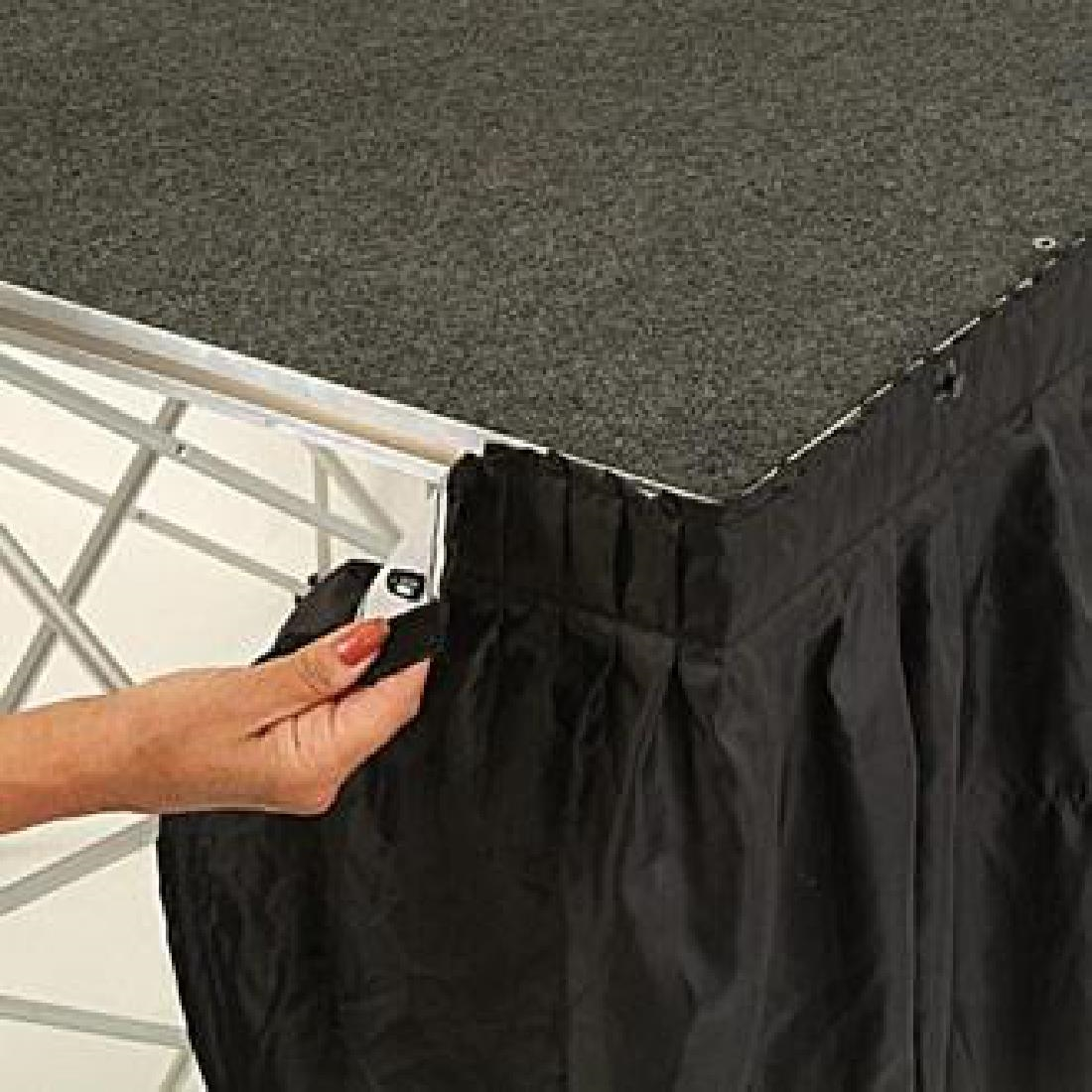 Click to view product details and reviews for Gopak Valance Black 430mm.