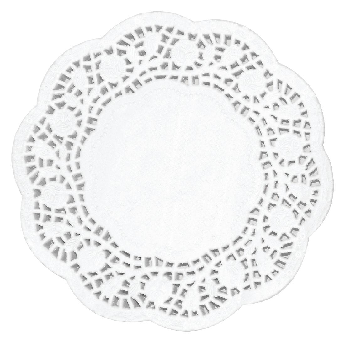 Image of Fiesta Round Paper Doilies 165mm (Pack of 250) Pack of 250