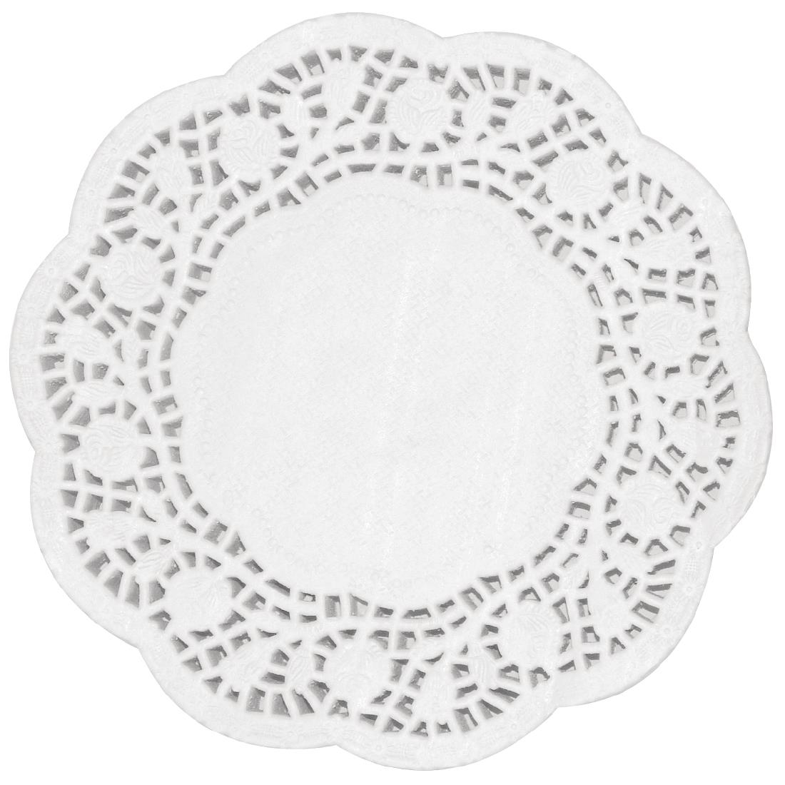 Image of Fiesta Round Paper Doilies 240mm (Pack of 250) Pack of 250