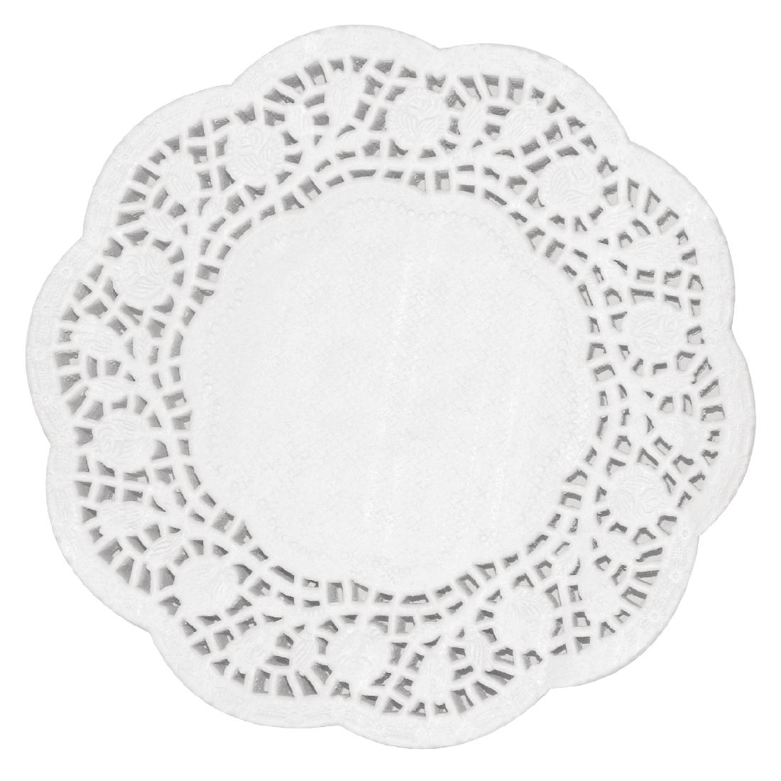 Image of Fiesta Round Paper Doilies 300mm (Pack of 250) Pack of 250