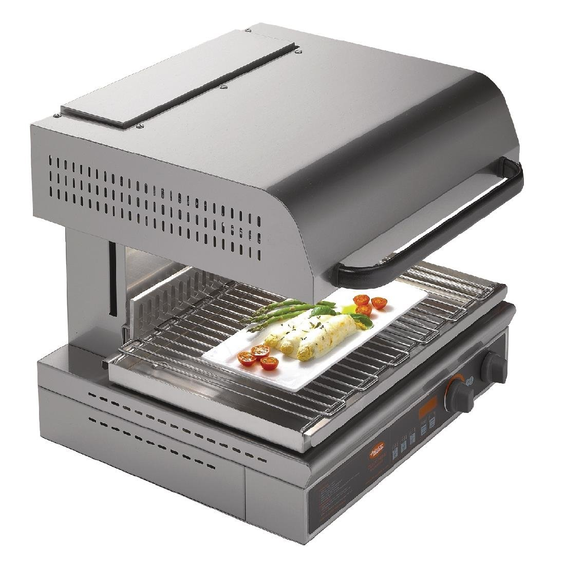 Image of Hatco Energy Saving Rise and Fall Salamander Grill QTS-1