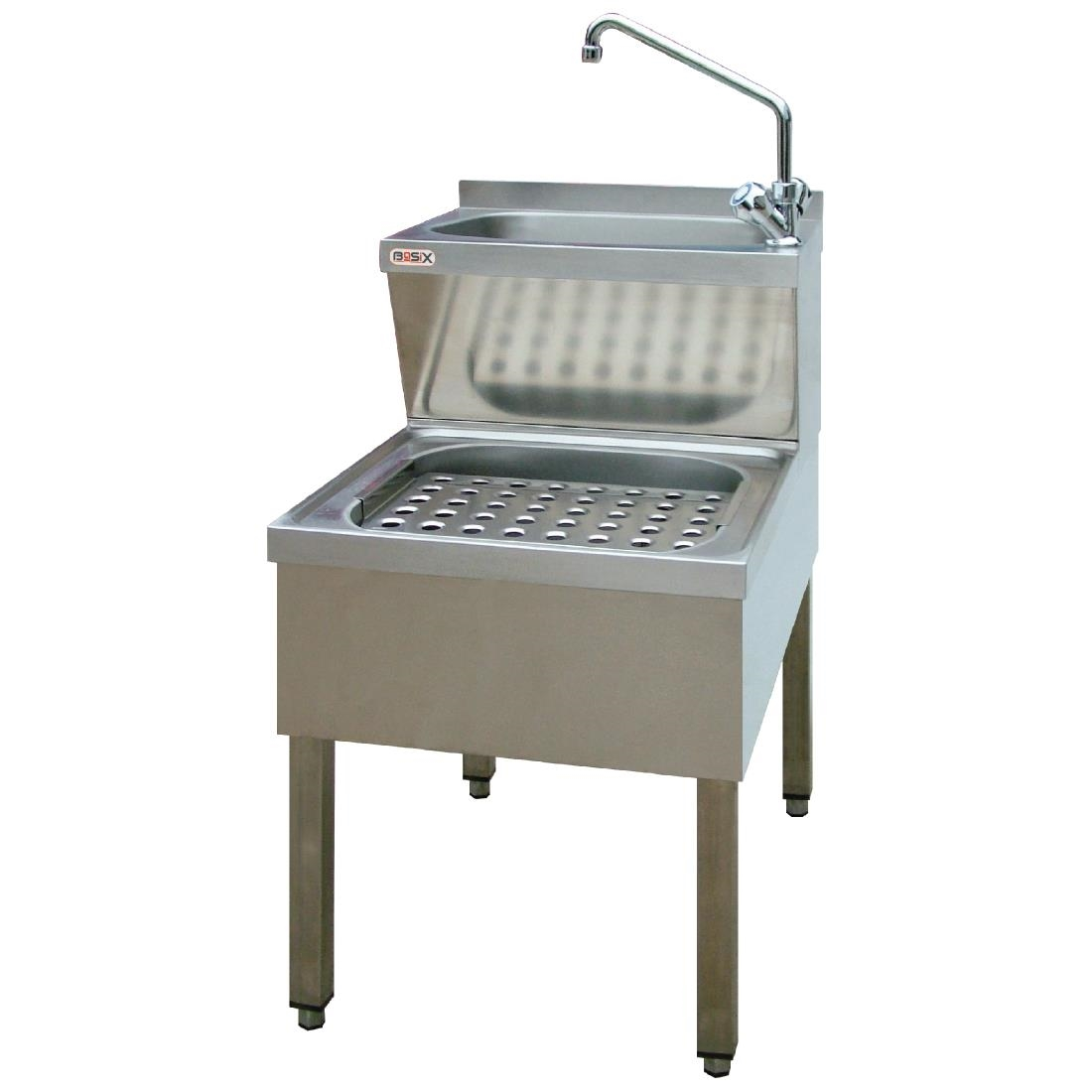 Image of Basix Stainless Steel Janitorial Sink